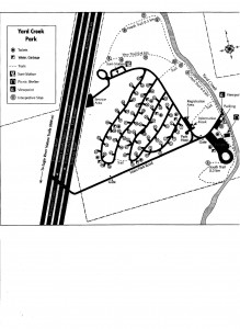 yard creek park map