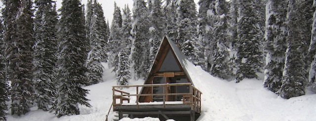 queest mountain cabin