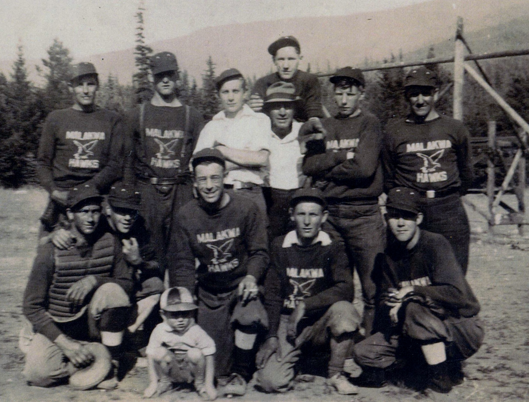 mens baseball team