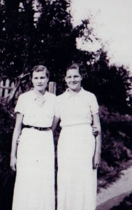 Irene and Frances Finucane 1937