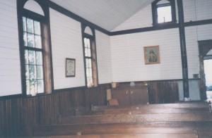 Church Inside North Side towards back