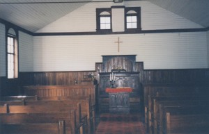 church inside front