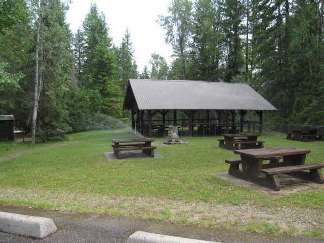 yard creek campground malakwa